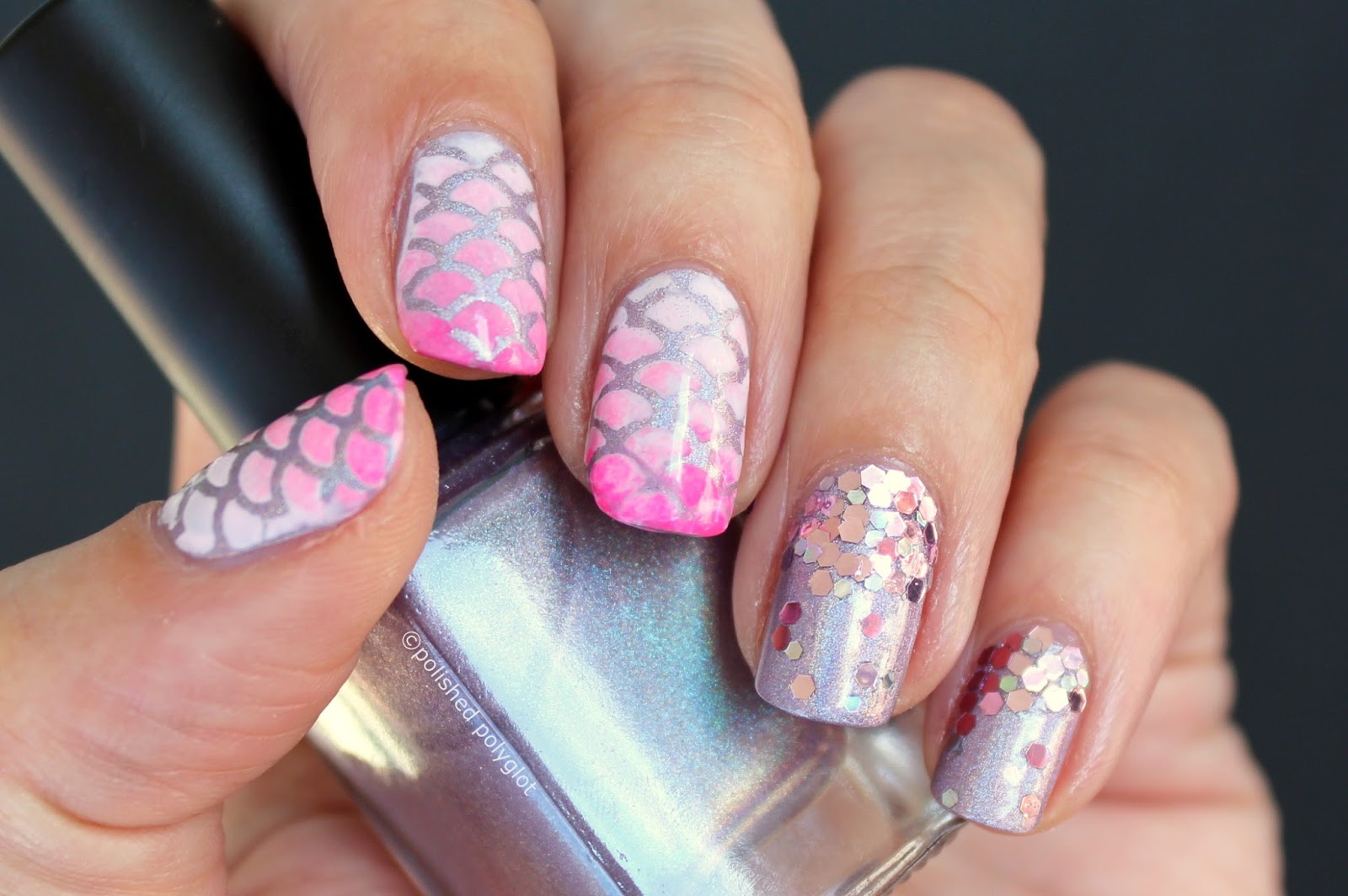 15 Amazing Nail Art Ideas Created With Pink And Lilac Nail
