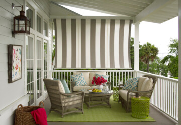 16 Lovely Ideas for Warm and Welcoming Porches - spring porch decor, porch ideas, porch design, porch decor