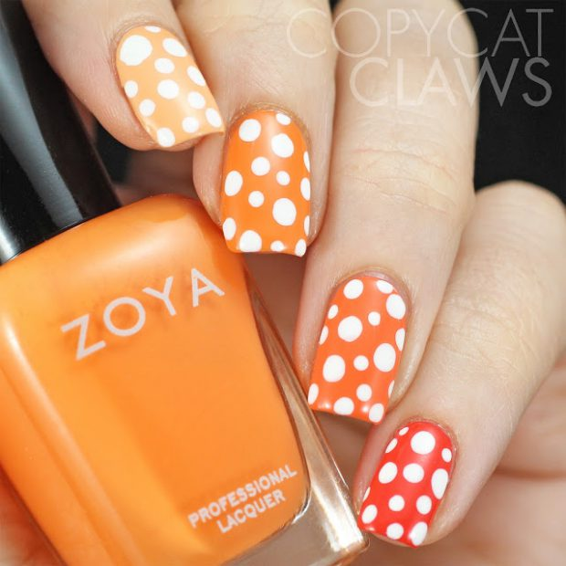 Red and Orange: 16 Cute Nail Polish Combos for Your Nails