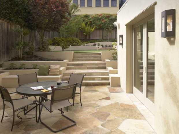 Amazing Stone Patio Design Ideas For Your Backyard Style - Stone patio design
