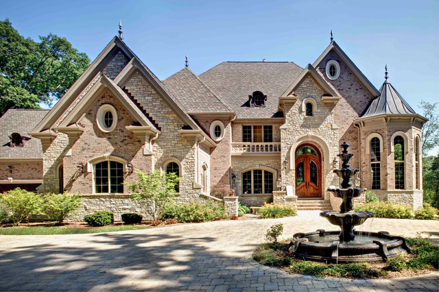 20 beautiful stone exterior design ideas style motivation for Unique house exteriors