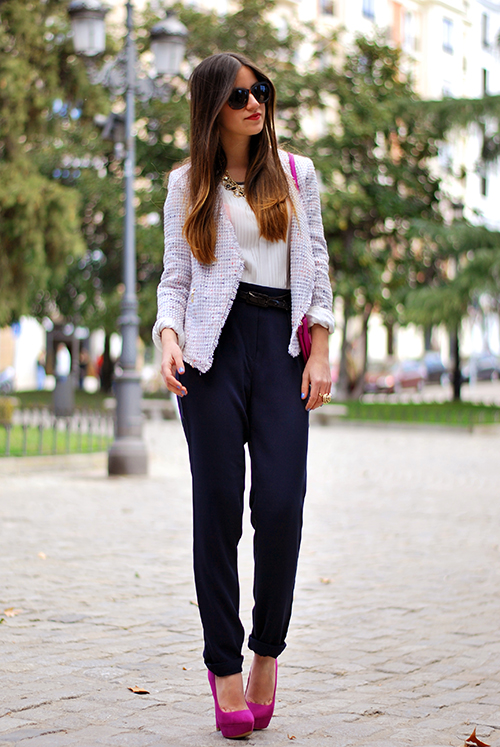 Spring Trend: 18 Stylish Ways to Wear This Season's New Harem Pants (Part 3)