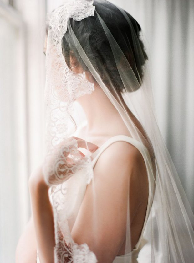 20 Gorgeous Veils Ideas and Inspirations for Brides Who Want Something Totally Original