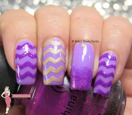 17 Creative Ways to Use Violet Nail Polishes for Romantic Nail Art