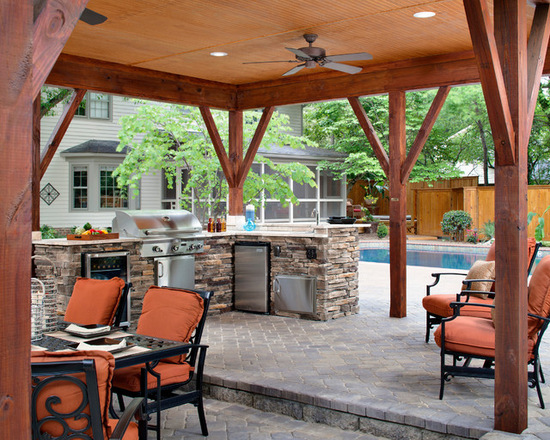 17 Stunning Covered Outdoor Kitchen Design Ideas Style Motivation