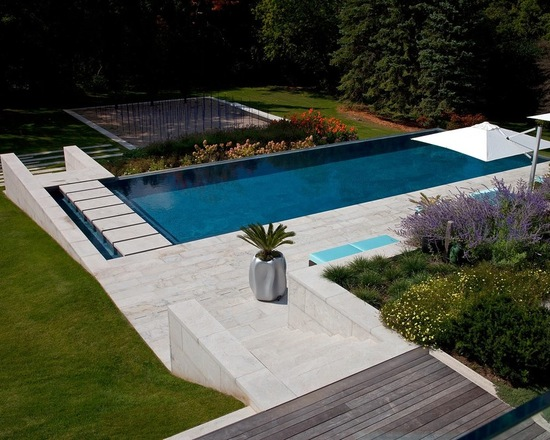 Superior 21 Landscape Small Backyard Infinity Pool Design Ideas