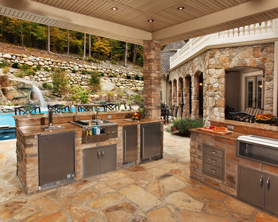 outdoor kitchens designs. 17 Stunning Covered Outdoor Kitchen Design Ideas  Style Motivation