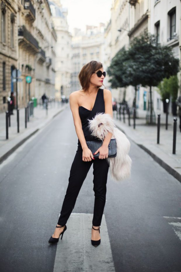 a72edde7f2cb 19 Stylish Black Jumpsuit Outfit Ideas Perfect for Every Occasion ( Part 2)
