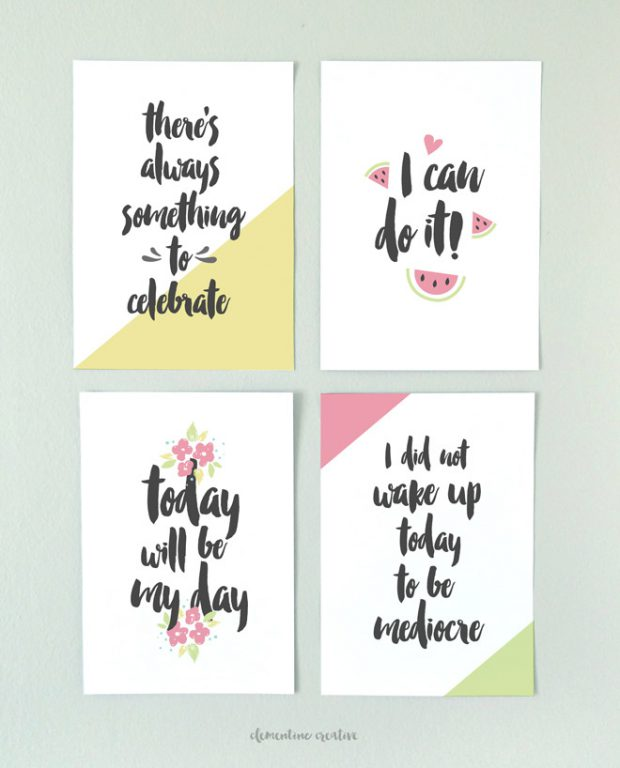 Delightful Wall Art Motivational Quotes: 15 Creative DIY Ideas