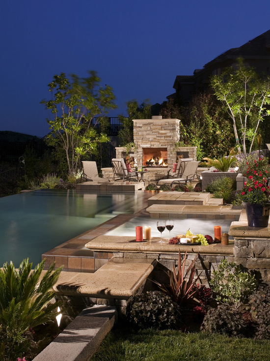 ... 21 Landscape Small Backyard Infinity Pool Design Ideas ...