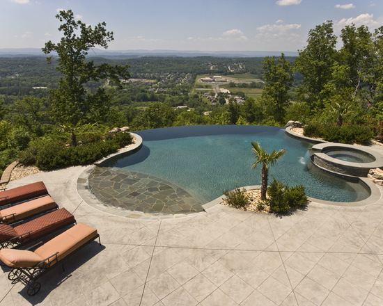 21 landscape small backyard infinity pool design ideas style