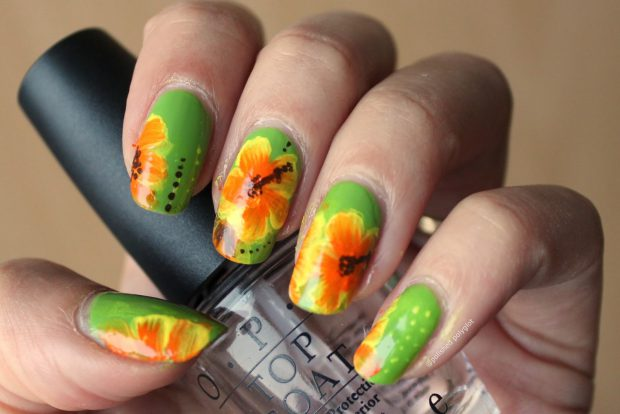 16 Cute Floral Nail Art Ideas Ideal for Spring and Summer