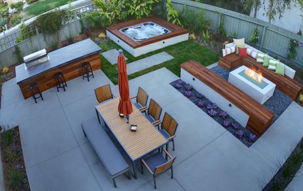 18 Stunning Decks and Patios Design Ideas with Hot Tubs - Style ...