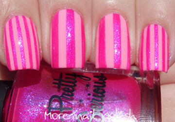 17 Gorgeous Hot Pink Nail Art Ideas for Summer Days - summer nail design, summer nail art, pink nails, pink nail art, hot pink nail aer ideas, hot pink nail