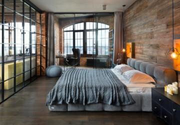 20 Great Industrial Bedroom Design Ideas - industrial style interior, industrial style apartmants, industrial bedroom, bedroom idea