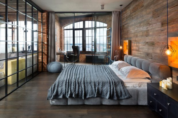 Captivating 20 Great Industrial Bedroom Design Ideas