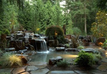 17 Beautiful Pond Design Ideas for Landscaping Backyard - backyard pond design ideas, backyard pond, Backyard Landscaping Ideas