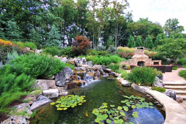 17 Beautiful Pond Design Ideas for Landscaping Backyard