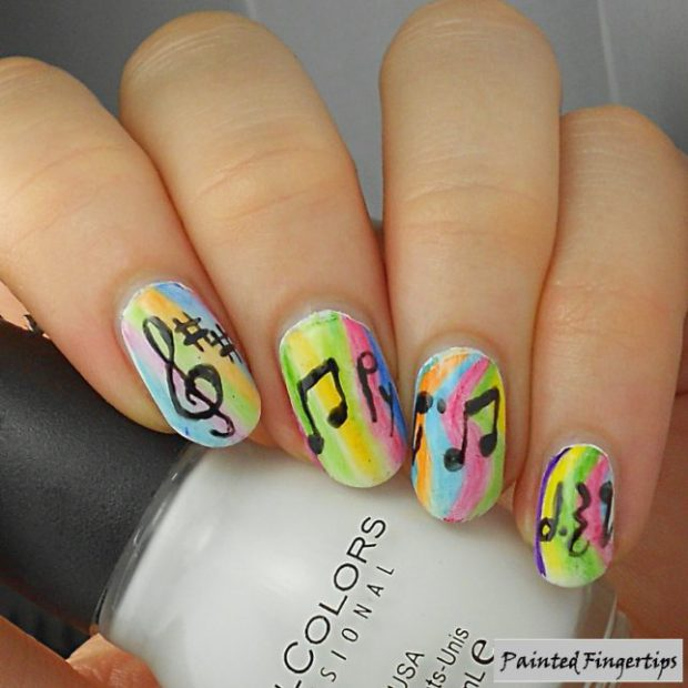 Music Inspired Nails: 13 Lovely Nail Art Ideas
