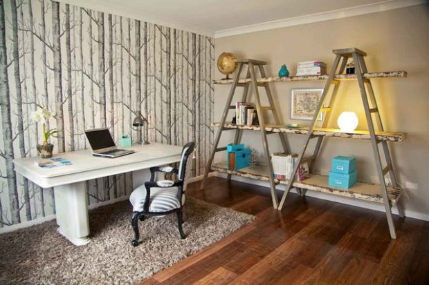 20 Great Home Office Shelving Design and Decor Ideas