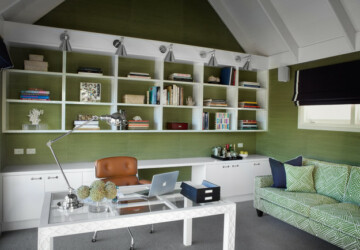 20 Great Home Office Shelving Design and Decor Ideas - shelving, home office shelving, Home office