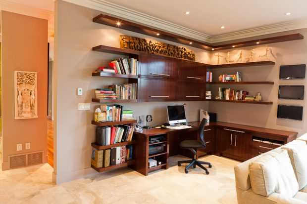 Great Home Office Shelving Design And Decor Ideas Style