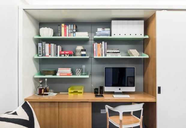 20 Great Home Office Shelving Design And Decor Ideas Style