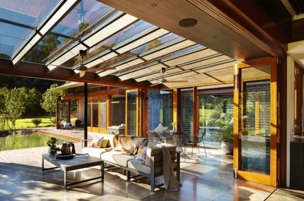21 Stunning Indoor- Outdoor Living Spaces - Style Motivation