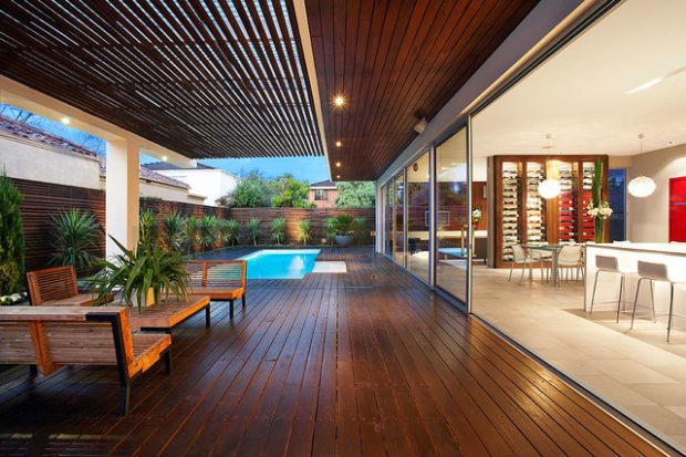 21 Stunning Indoor Outdoor Living Spaces Style Motivation