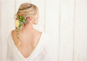 Bridal Hairstyles: 18 Beautiful Ideas for Spring and Summer Weddings - summer wedding, summer bridal hairstyles, spring wedding, spring bridal hairstyles, bridal hairstyles