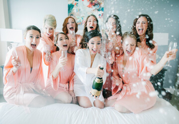 Avoid Picking These 5 Buzzkill Bridesmaids for Your Bridal Party (INFOGRAPHIC) - bridesmaids, bridal party
