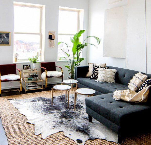 5 Ideas For Hiding Ugly Apartment Rental Flooring