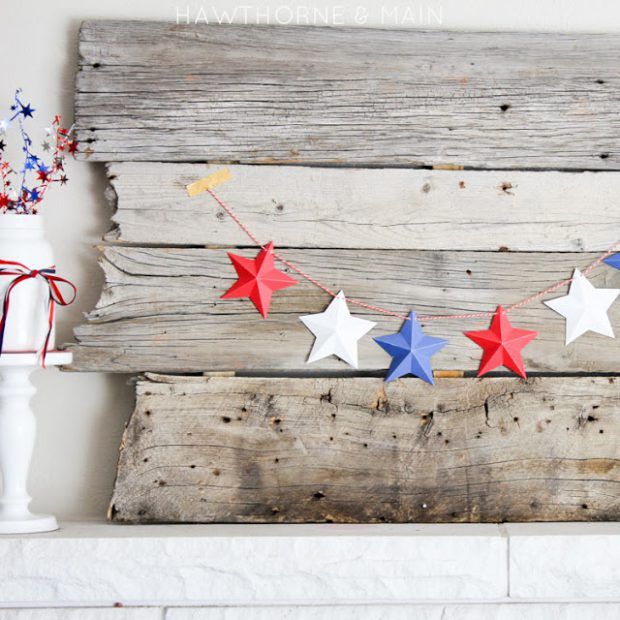 17 Creative and Fun DIY Patriotic 4th of July Decorations
