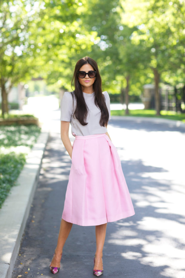 17 Chic Ways to Wear Midi Skirt This Summer (Part 1)