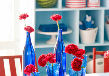 Patriotic Party: 15 DIY 4th of July Decor Ideas - diy party crafts, diy 4th of July decorations, 4th of July party, 4th of July diy decor, 4th of July