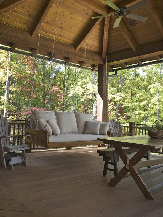 17 Stunning Mountain House Deck and Patio Design Ideas (Part 2)