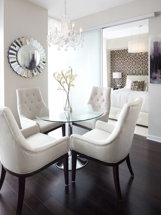 18 Creative and Functional Small-Space Dining Room Design Ideas ...