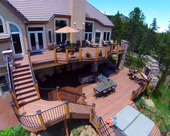 17 Stunning Mountain House Deck And Patio Design Ideas Part 1