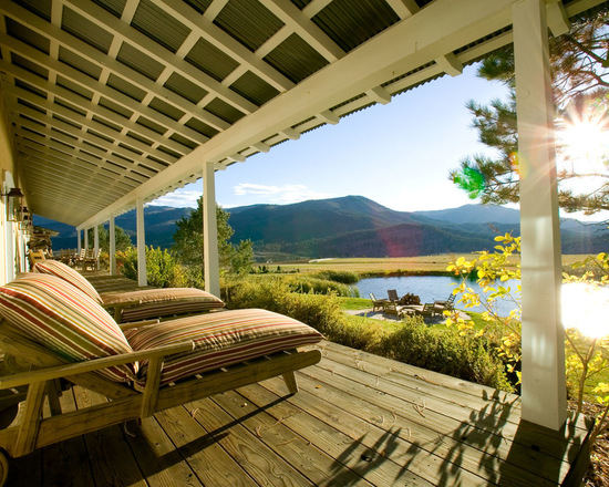 17 Stunning Mountain House Deck And Patio Design Ideas