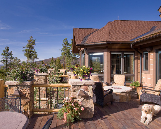 17 stunning mountain house deck and patio design ideas part 1 - Deck And Patio Design Ideas