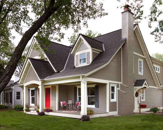 20 Great Covered Front Home Porch Design and Decor Ideas