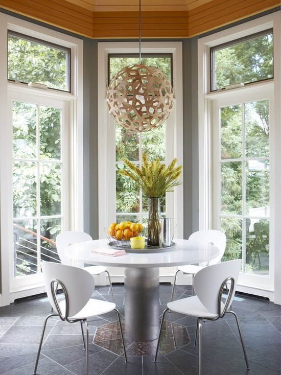 18 Creative and Functional Small Space Dining Room Design Ideas