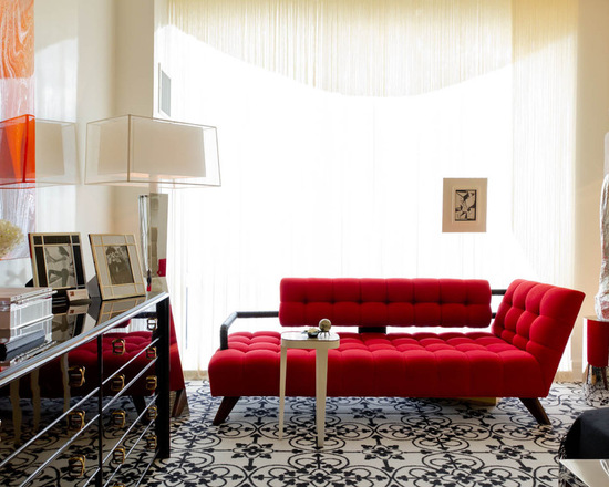 18 Stunning Red Sofa Living Room Design and Decor Ideas