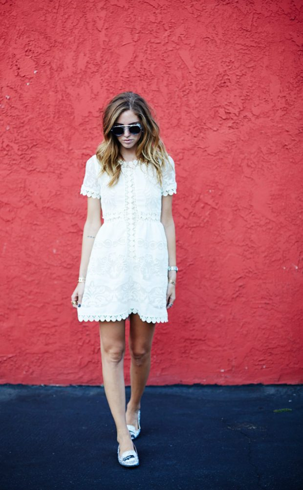 White Lace Dress: 15 Romantic Summer Outfit Ideas