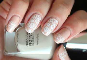 18 Ultimate Wedding Nail Art Ideas - wedding nails, romantic nail art, nail art ideas
