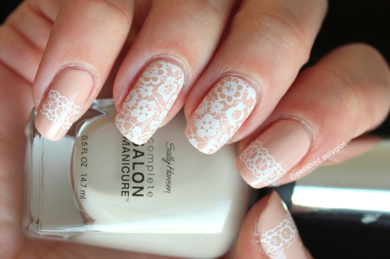 17 Lovely Bridal Nail Art Ideas for Romantic Look - Style Motivation