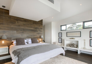 17 Beautiful Bedrooms with Accent Walls - Master Bedroom, Bedrooms with Accent Walls, bedroom design ideas, accent walls