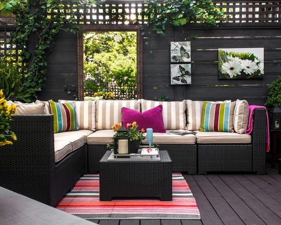 20 Lovely Sectional for Your Outdoor Space