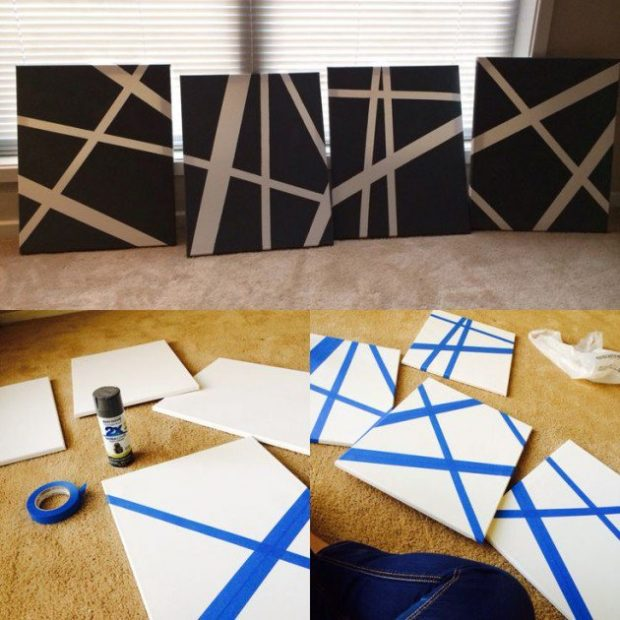 12 Easy Yet Creative DIY Wall Art Ideas For Your Home (1)