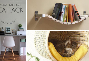 12 Fantastic IKEA Hacks You Can DIY To Save Money - save money, ikea, ideas, Homemade, handmade, hacks, hack, Easy, do it yourself, diy, crafts, crafting, cheap